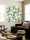 Floral Glamour III Wall Mural by Katia Hoffman