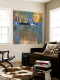 Oil Rig Abstraction I Wall Mural by Sisa Jasper