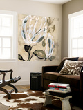 Flower Pods I Wall Mural by Jennifer Goldberger