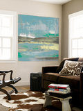 Cool Horizon III Wall Mural by Jennifer Goldberger
