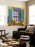 Window Floral I Wall Mural by Rick Novak