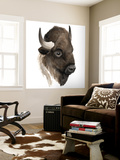 Western Animal Study IV Wall Mural by Grace Popp
