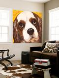 Dlynn's Dogs - Charlie Wall Mural by Dlynn Roll