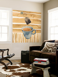 Cafe au Lait III Wall Mural by Grace Popp