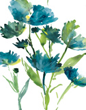 Blueberry Blooms I Prints by Rebecca Meyers