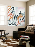 Squiggle I Wall Mural by Megan Meagher