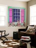 Window Floral II Wall Mural by Rick Novak
