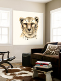 Safari Cat IV Wall Mural by Grace Popp