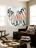 Squiggle II Wall Mural by Megan Meagher