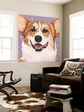 Dlynn's Dogs - Teddy Wall Mural by Dlynn Roll