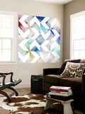 Pattern Blur III Wall Mural by Megan Meagher