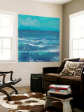 Ocean Waves I Wall Mural by Rick Novak