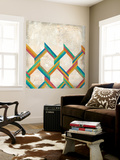 Twist and Shout I Wall Mural by Chariklia Zarris