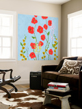 Bright Stems IV Wall Mural by Rick Novak
