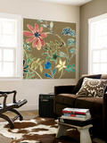 Flower Garland I Wall Mural by Grace Popp