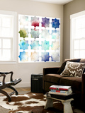 Pattern Blur I Wall Mural by Megan Meagher