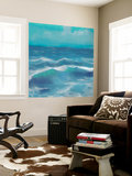 Ocean Waves II Wall Mural by Rick Novak