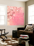 Tokyo Cherry II Wall Mural by Evelia Designs
