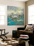 Painterly Field II Wall Mural by Jennifer Goldberger