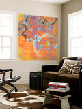 Aurora Australis I Wall Mural by  Evelia Designs
