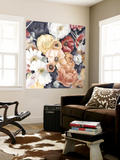 Floral Composition II Wall Mural by Megan Meagher