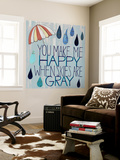 Rainy Day III Wall Mural by Grace Popp