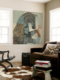 Patterned Horse II Wall Mural by Tim O'toole
