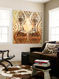 Coffee House III Wall Mural by  Evelia Designs
