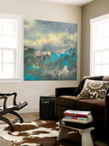 Painterly Field I Wall Mural by Jennifer Goldberger