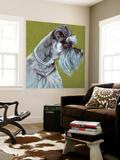 Dlynn's Dogs - Zoee Wall Mural by Dlynn Roll