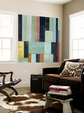 Geometric Conglomeration I Wall Mural by Grace Popp