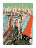 Puente de Brooklyn, Nueva York Edición limitada por  HR-FM