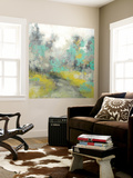 Pastel Walk II Wall Mural by Jennifer Goldberger