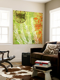 English Tea Garden II Wall Mural by  Evelia Designs