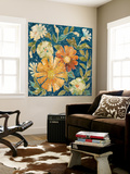 April Flowers II Wall Mural by Megan Meagher