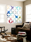 Pattern Blur II Wall Mural by Megan Meagher