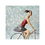 Follow Me Giclee Print by Didier Lourenco