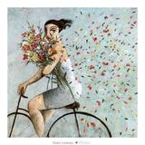 Petals Kunstdruck von Didier Lourenco