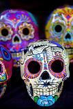 Dia De Los Muertos Skulls Photographic Print by  thom_morris