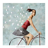 Follow Me Poster by Didier Lourenco