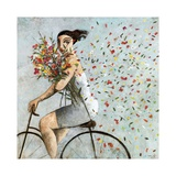 Petals Giclee Print by Didier Lourenco