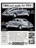 GM Chevy Aerosedan Sportmaster Poster