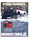 Ford 1983 Bronco Snowbility Prints