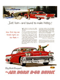 GM Buick-Bound to Make History Poster
