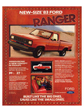 Ford 1983 New-Size Ranger Posters
