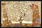 Gustav Klimt - El árbol de la vida Lámina