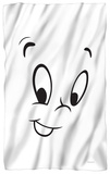 Casper The Friendly Ghost - Face Fleece Blanket Fleece Blanket