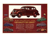 GM Chevrolet's the Choice Posters