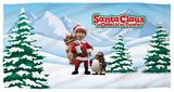 Santa Claus Is Comin To Town - Kris And Topper Beach Towel Beach Towel