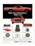 Ford1972 Ranchero... Right On! Prints